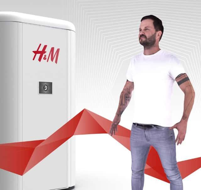 3D Avatare unterstützen H&M Kunden
