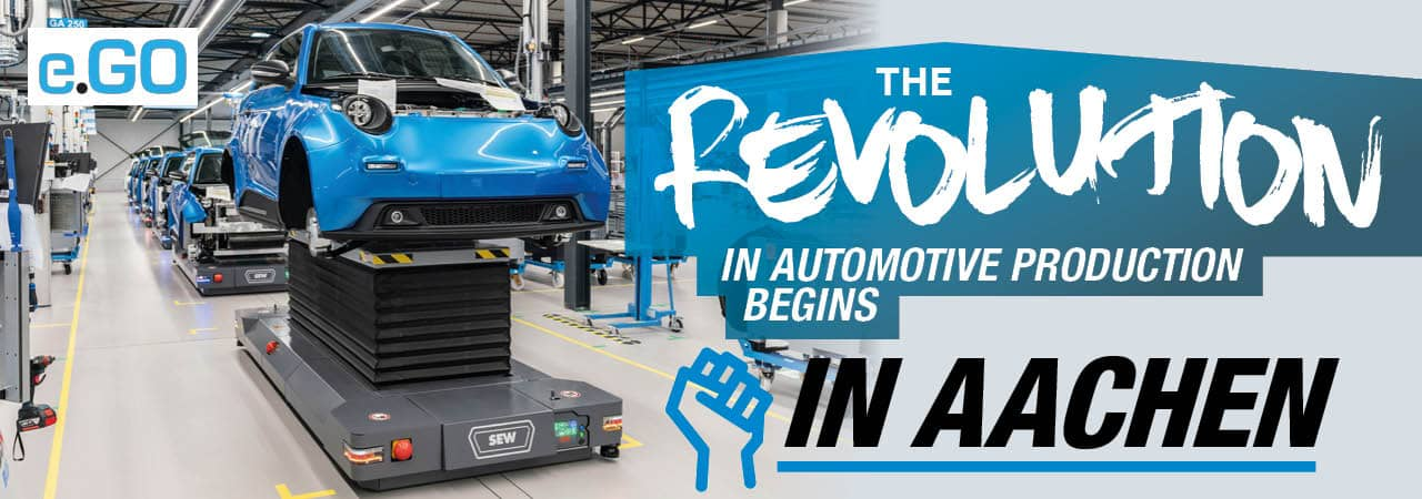 The Revolution in Automotive Production Starts in Aachen