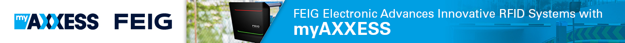 Get in Contact: FEIG Electronic Advances Innovative RFID Systems with myAXXESS