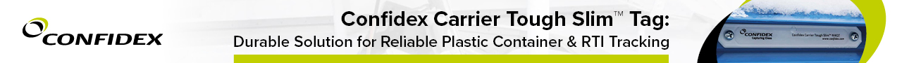 Get in Contact: Carrier Slim Tag: Durable Solution for Reliable Plastic Container & RTI Tracking