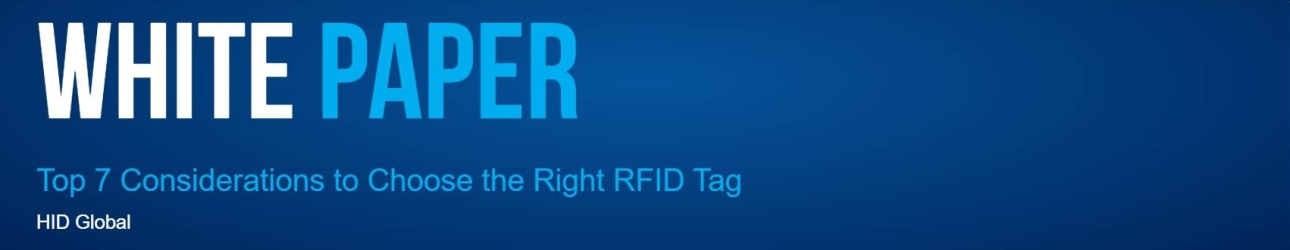 Top 7 Considerations to Choose the Right RFID Tag