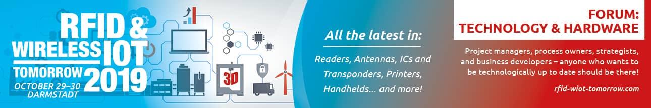 RFID & Wireless IoT tomorrow 2019 - Technology & Hardware Forum