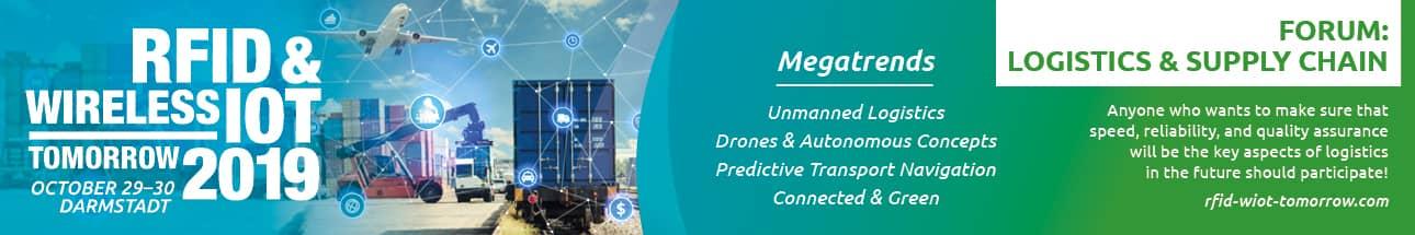 RFID & Wireless IoT tomorrow 2019 - Logistics & Supply Chain Forum