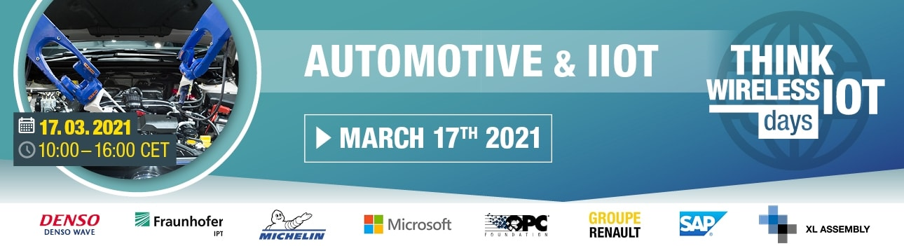 Think Wireless IoT Days 02/2021 - Automotive, IIOT and Maintenance