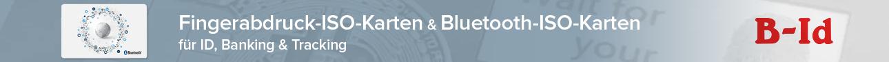 Nehmen Sie Kontakt auf: Fingerabdruck-ISO-Karten & Bluetooth-ISO-Karten für ID, Banking & Tracking