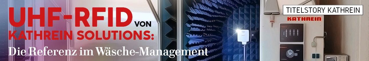 UHF-RFID von Kathrein Solutions: Die referenz im Wäsche-Management