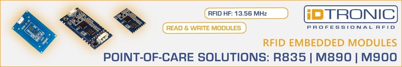 iDTRONIC Point of care solutions: R835, M890 & M900