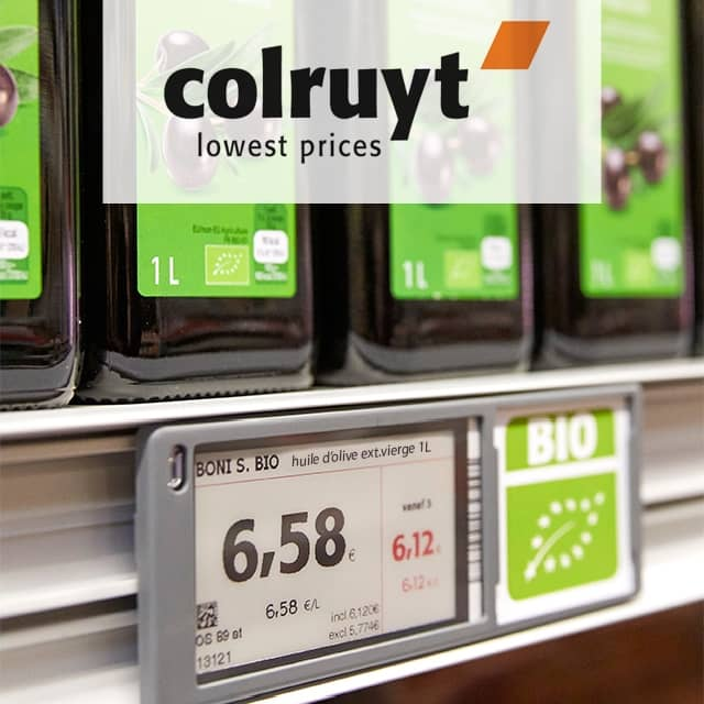 NFC-Enabled E-Price Tags at Colruyt Save 90 Tons of Paper