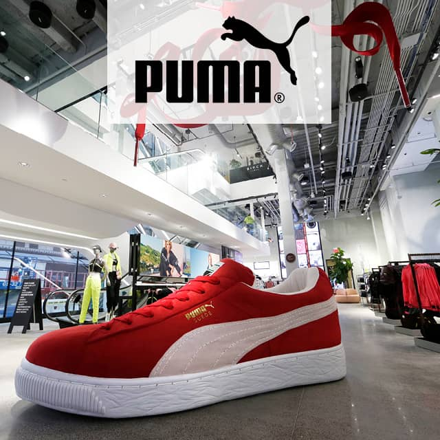 Retailer Puma Opens Interactive Experience Store