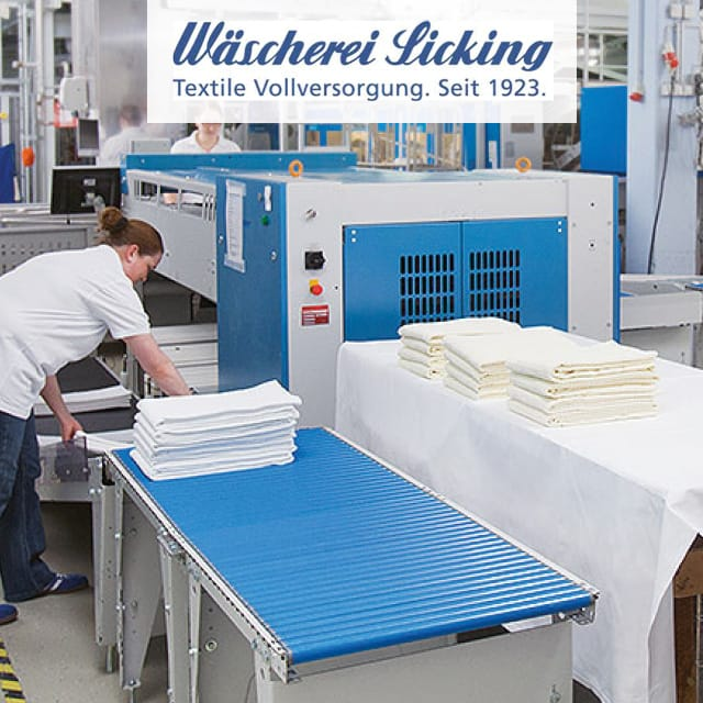 Wäscherei Sicking: Optimizing Economic Efficiency and Machine Utilization