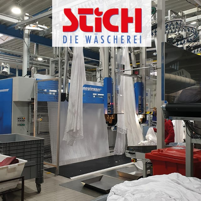 70,000 Reusable Laundry Items with UHF RFID at Wäscherei Stich