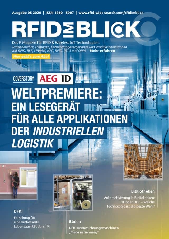 E-Magazin RFID im Blick Ausgabe 05/2020