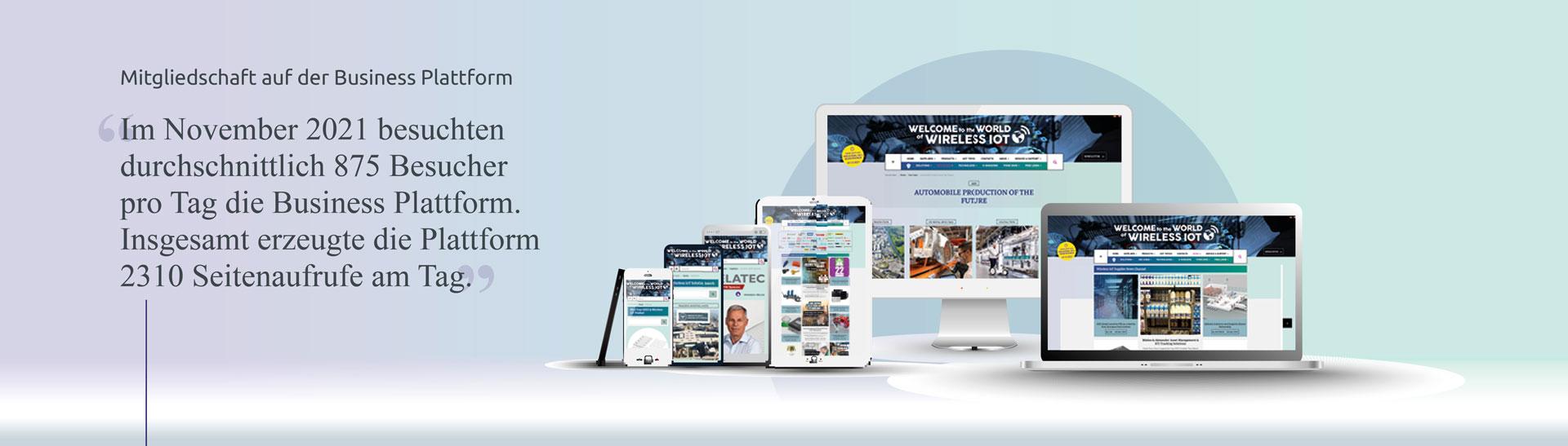 Mitgliedschaft in der Wireless IOT Business Plattform