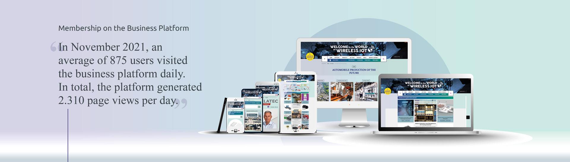 Membership on the Wireless IOT Business Platform