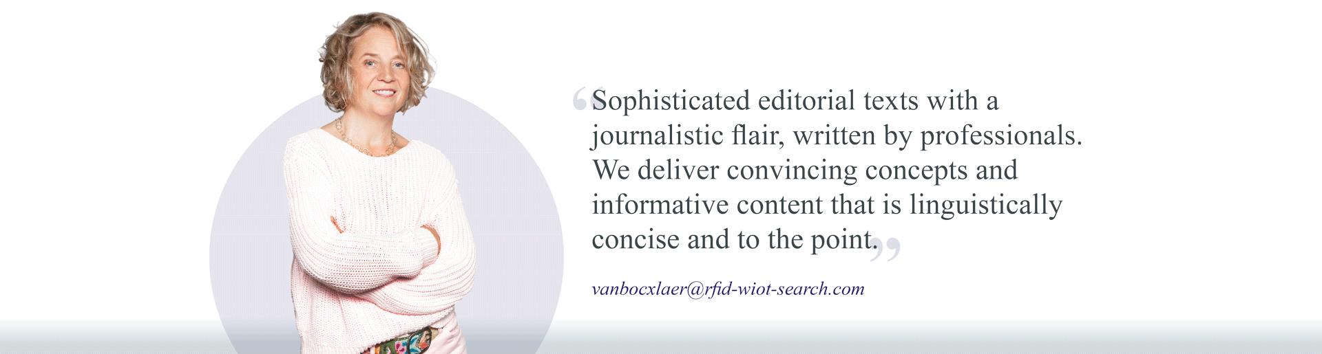 You plan - We write!