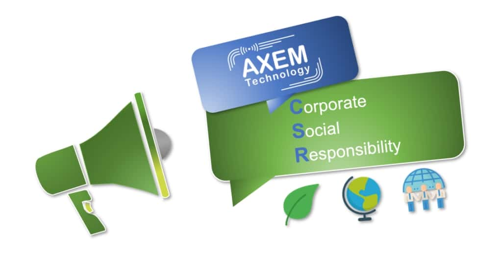 AXEM Technology is Rewarded for its CSR Approach