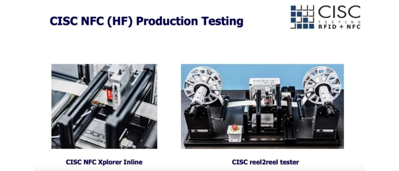 Video Inside: NFC Production Testing by CISC Semiconductor