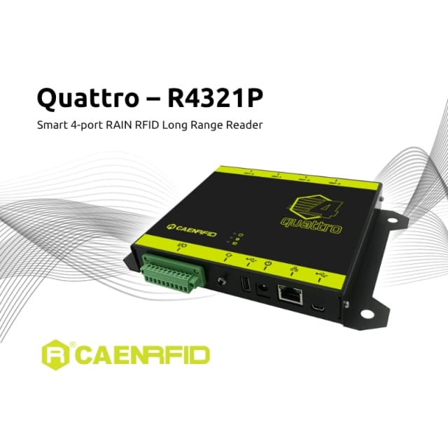 CAEN Announces New Quattro RAIN RFID Fixed Reader
