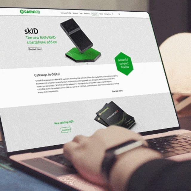 CAEN RFID Renews its Online Presence