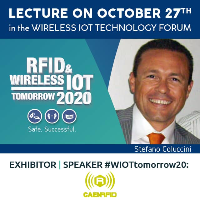 CAEN RFID Will Present New Products LIVE at #WIOTtomorrow20