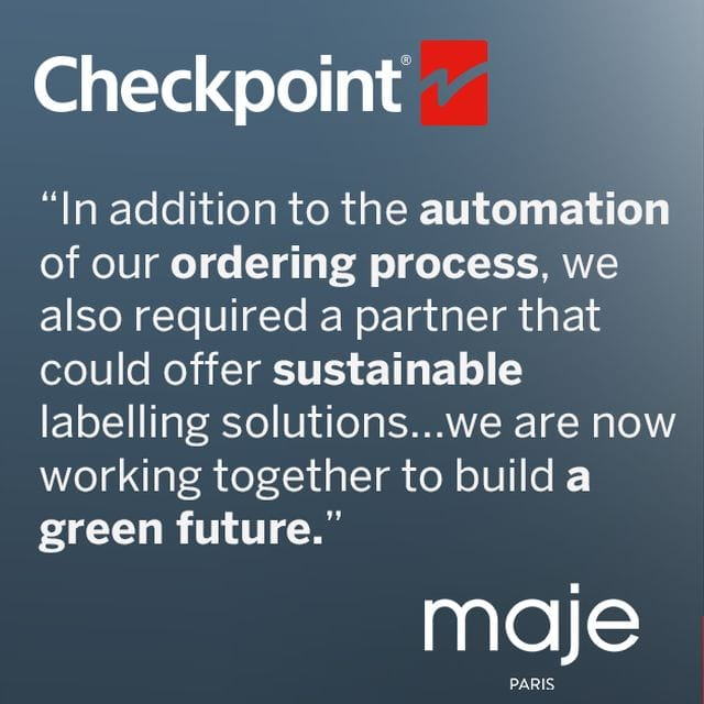 Checkpoint Supports Maje with Sustainable Labelling