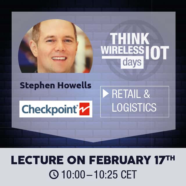Checkpoint Systems presents at Think WIOT Day Retail & Logistics