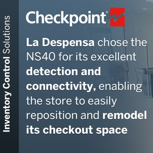 Checkpoint Systems' NS40 Antenna Protects Against Theft