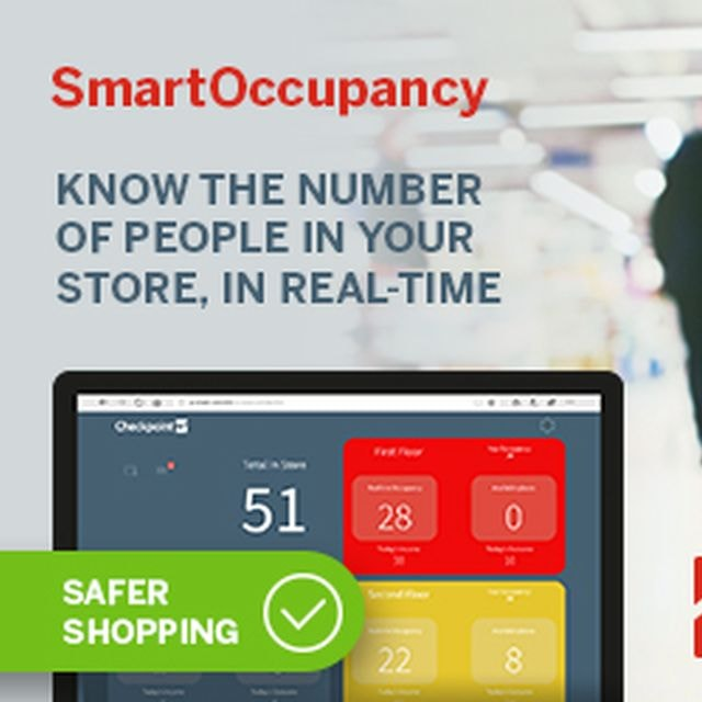 Checkpoint unveils new system that tracks real-time in-store occupancy