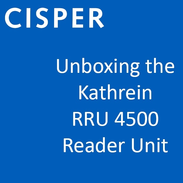 Video inside: Cisper Electronics Featuring Kathrein RRU 4500