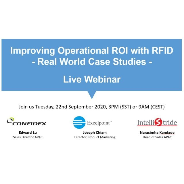 Confidex WEBINAR: Improving Operational ROI with RFID