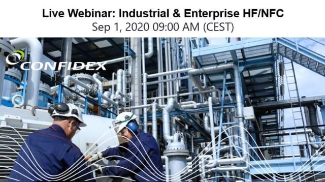 Confidex WEBINAR: Industrial & Enterprise HF/NFC
