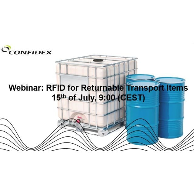 Confidex WEBINAR: RFID for Returnable Transit Items (RTI's)