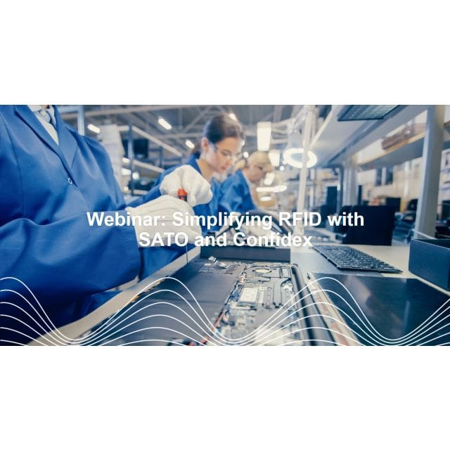 Confidex WEBINAR: RFID for Automotive Manufacturing – Americas