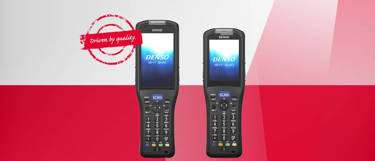 DENSO launches BHT-S30 and BHT-S40 Handhelds