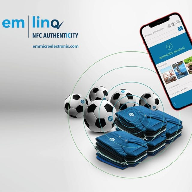 EM Microelectronic Makes NFC Authentication Scalable
