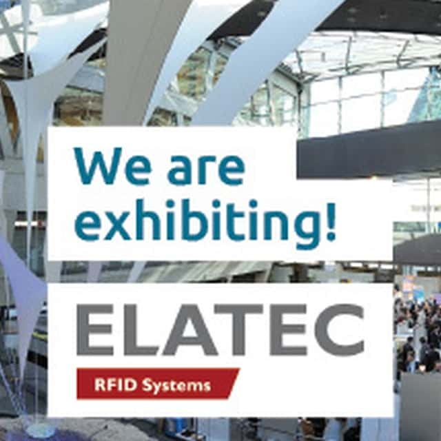 Visit ELATEC at RFID & Wireless IoT tomorrow 2018
