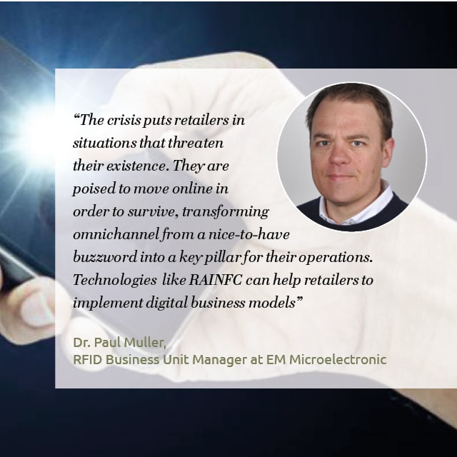 EM Microelectronic: Latest generation RAIN NFC ICs is becoming the key to e-commerce
