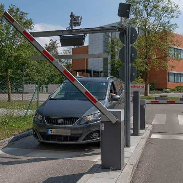 Automated Vehicle Access Control at Schreiner Group HQ