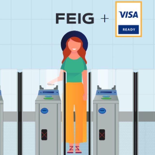 FEIG als Visa Ready for Transit Partner zertifiziert