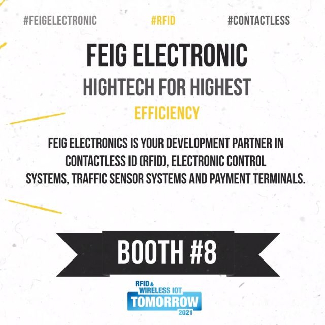 FEIG: Smarte Auto-ID-Lösungen für die Logistik auf der #wiottomorrow21