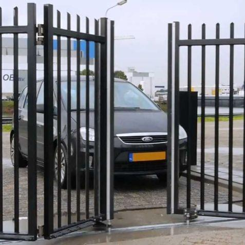 Easy entry into the administration of access and vehicle access control systems