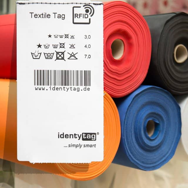 identytag presents new TextileTag for RFID identification of fabric products