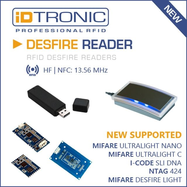 New MIFARE DESFire Smart Card Technologies