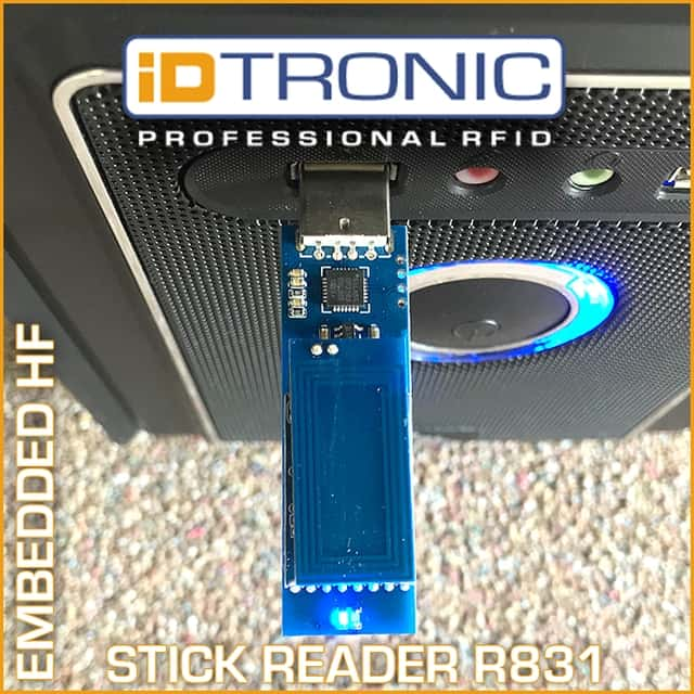Der RFID Embedded HF Stick Reader R831