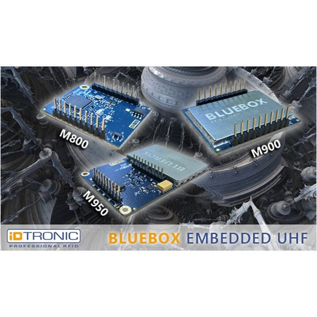 iDTRONIC's BLUEBOX RFID Embed-ded UHF Module Series