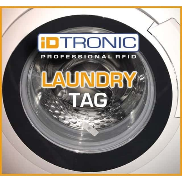 iDTRONIC's RFID Polyester Laundry Tag