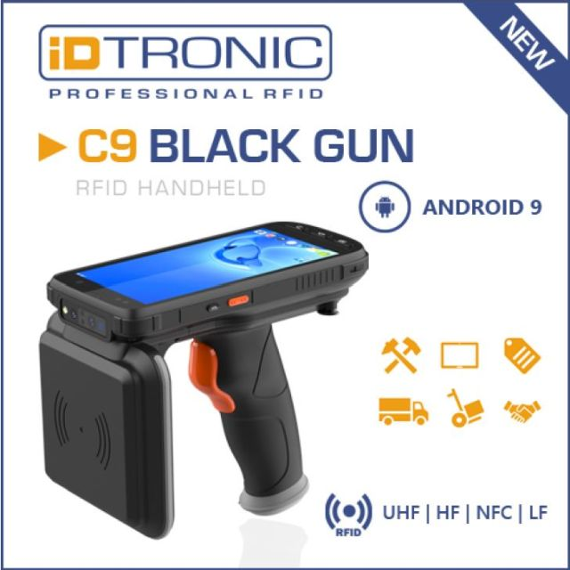 iDTRONIC Equips RFID Mobile Terminals with Android 9