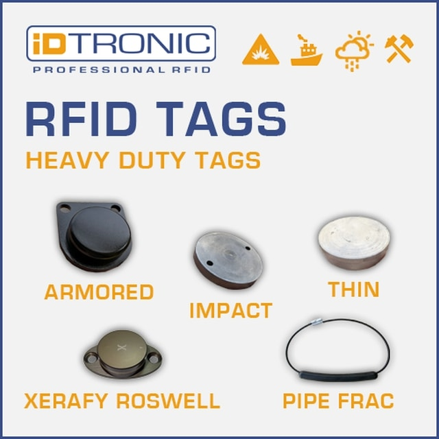 iDTRONIC provides RFID Tags for Harsh Environments