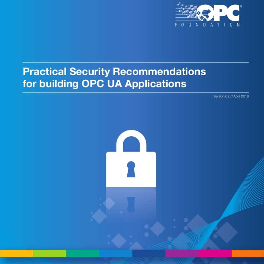 Kaspersky Labs report shown to refer to outdated versions of OPC UA implementations demonstrating high iteration speed of Open Source community improvements and the strength of OPC UA security.