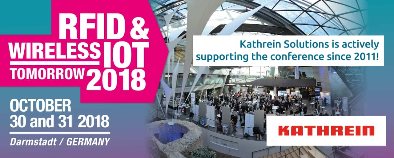 Kathrein presents New RAIN RFID Reader With Innovative Connection Concept at RFID & Wireless IoT tomorrow